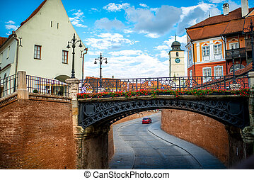 Sibiu city view