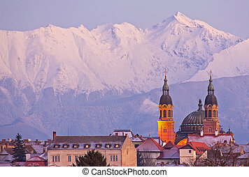 Sibiu cityscape