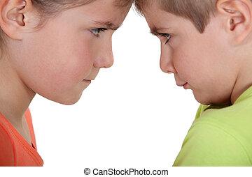 Sibling argument