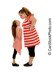 Sibling Rivalry between two Stubborn Sisters - Sibling...