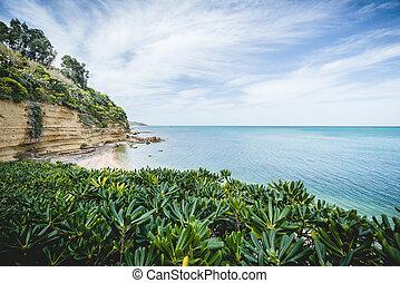 sicília, praia, deslumbrante
