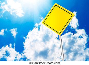sicherheit, straße zeichen
