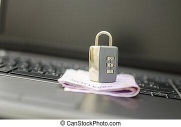 sicherheit, von, online-bankwesen