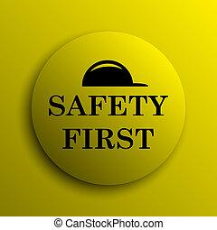sicherheit zuerst, ikone