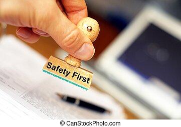 sicherheit zuerst