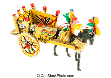 Sicilian cart model - Folkloristic traditional sicilian...