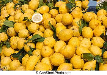 siciliano, citron