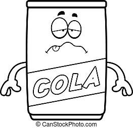 Sick Cartoon Cola Can