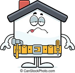 Sick Cartoon Home Improvement