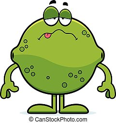 Sick Cartoon Lime