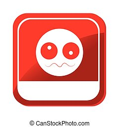 sick face emoticon icon