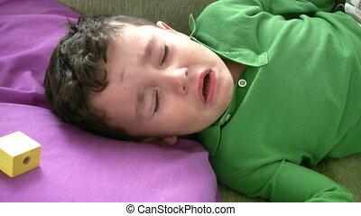Sick Little Boy Full HD 1080p