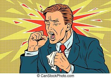 sick person clip art