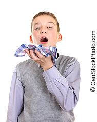 Boy got a Flu