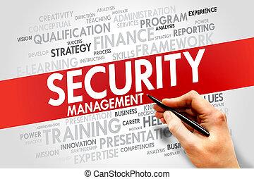 sicurezza, amministrazione