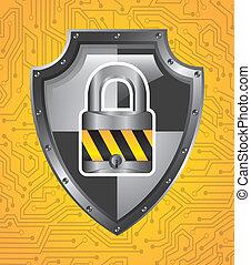 sicurezza, disegno
