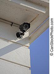 sicurezza, macchina fotografica