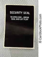 sicurezza, sigillo