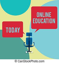 side., ético, conceito, texto, executivo, education., quadrado, direita, aprendizagem, em branco, cadeira, dois, escrita, fala, online, compartilhar, negócio, prática, bolhas, palavra, estudo, facilitating, esquerda