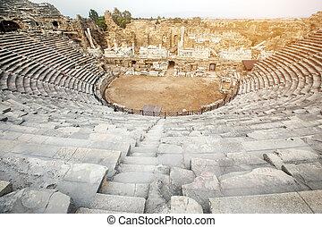 Side Amphitheatre