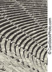 Side Amphitheatre - The ancient Roman amphitheatre situated ...