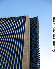Side Angle of Tall Building