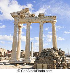 Side Apollo Temple in Turkey