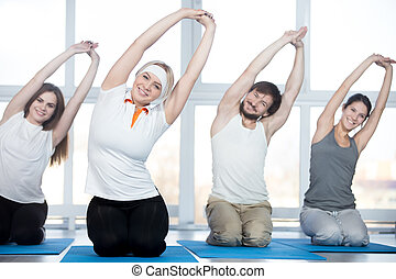 Side bend exercise