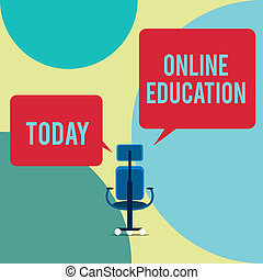 side., ethisch, concept, tekst, uitvoerend, education., plein, rechts, leren, leeg, stoel, twee, schrijvende , toespraak, online, delen, zakelijk, praktijk, bellen, woord, studeren, facilitating, links