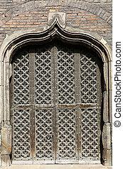 Side Gate Saint Marys Church Gdansk