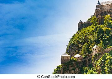 Side Hochosterwitz castle in Austria