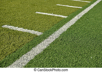 Side Line of a Football Field
