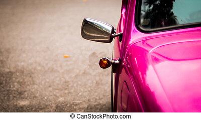 Side mirror vintage car