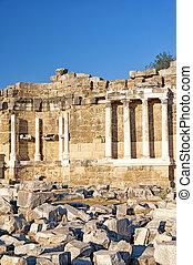 Side Nymphaeum Fountain Ruins 01