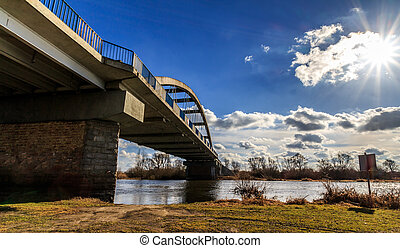 Side of the bridge