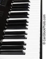 side view keys of digital sequencer