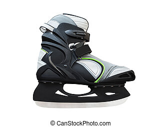 ice skates isolated