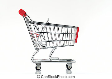 Side view of Shopping Cart