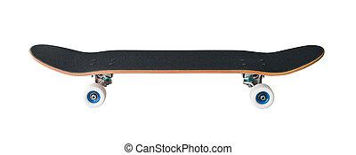 Side view of skateboard