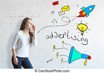 Advert concept