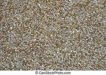 Sidewalk - Natural gravel sidewalk closeup in Bordeaux,...
