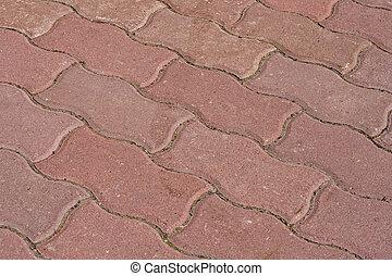 Sidewalk - Textured sidewalk