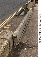 Sidmouth flood gate
