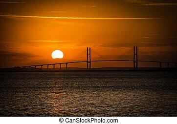 Sidney Lanier Suspension Bridge