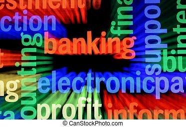 sieć, bankowość