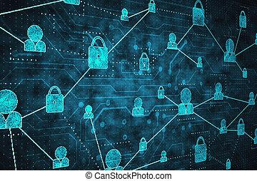 sieć, bezpieczeństwo, pojęcie