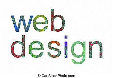 sieć, grunge, tekst, projektować, afisz, próbka