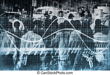 sieć, handel, analiza, dane