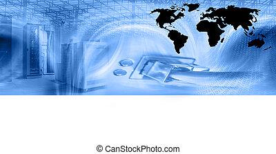 sieć hosting, szablon