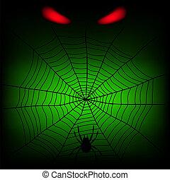 sieć, pająk